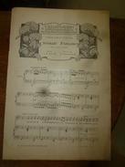 1906  Partition(s) Musicale(s) : SERENADE FRANCAISE; SOIR DE PREMIERE - Partitions Musicales Anciennes