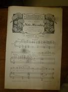 1907 Partition(s) Musicale(s) : LA DOULEUR DE TOINE; LA CHANSON DU TISSERAND - Partitions Musicales Anciennes