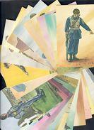 Serie Uniformi Paracadutisti D'italia 24 Cartoline C.1959 - Reggimenti