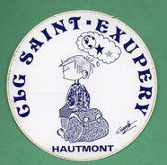 COLLEGE SAINT EXUPERY HAUTMONT / AUTOCOLLANT - Autocollants