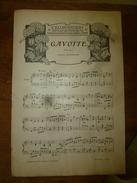1906 Partition(s) Musicale(s) : GAVOTTE; RONDE POPULAIRE VENDEENNE (J'ai Un Long Voyage à Faire) - Partitions Musicales Anciennes