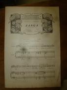1906 Partition(s) Musicale(s) : SANGA --->La Chanson Du Grain (Poème D'Eugène Morand Et Paul De Choudens) - Partitions Musicales Anciennes