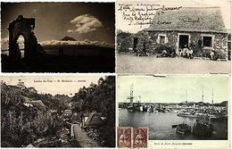 AZORES ISLANDS, PORTUGAL, PORTUGESE COLONY 36 Vintage Postcards - Autres Collections