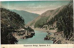 CANADA PC  B. C. - Suspension Bridge, Spuzzum (a583) - Postcards