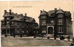 Canada PC Ontario - City Hospital, Belleville (a538) - Postcards