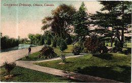 Canada PC Ontario - Government Driveway, Ottawa (a493) - Postcards