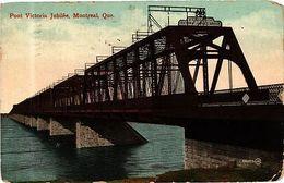 PC CANADA Montreal P. Q. Pont Victoria Jubilée (a397) - Unclassified