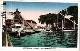 PC CANADA Montreal P. Q. The Chutes-Dominion Park (a365) - Postcards