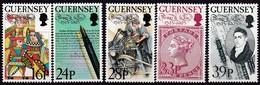 Guernsey, 1993, 617/21, Thomas De La Rue. MNH ** - Guernesey