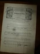 1908 Partition(s) Musicale(s) : SNEGOUROTCHA (3e Chanson De LEL) Et BORIS GODOUNOW (Les Cloches De Moscou) - Partitions Musicales Anciennes
