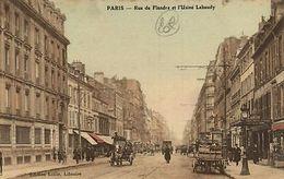 CPA Paris 19e (Dep. 75) Rue De Flandre (57841) - Frankrijk