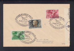 Hungary  Cover 1940 Special Cancellation Horty - Ungarn