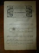1907 Partition(s) Musicale(s) : LE CHEMINEAU ; MUSETTE - Partitions Musicales Anciennes