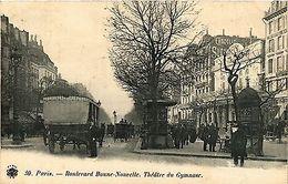 CPA PARIS 10e - Boulevard Bonne-Nouvelle. Theatre Du Gymnase (254342) - France