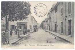 Cpa Marignane - Entrée Principale Du Village      (S.2374) - Marignane