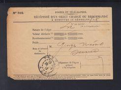 Recepisse Troyes 1913 - Sonstige
