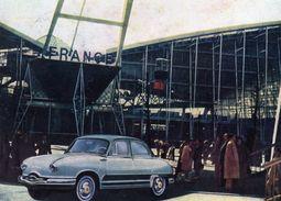Panhard Dyna - Pavillon De La France à L'Exposition Universelle De Bruxelles  -  Original Factory Issue Advertising Card - Passenger Cars