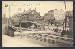 CPA Jemeppe  Le Passage à Niveau Et La Gare - Seraing