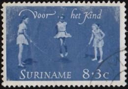 SURINAM - Scott #B108 Girls Skipping Rope / Used Stamp - Surinam ... - 1975