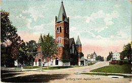 USA Postcard Danbury, Baptist Church (a900) - Postcards