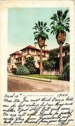 USA Postcard San Jose St. Claire Club (a881) - Postcards