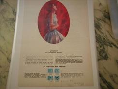 ANCIENNE PUBLICITE  UN DIAMANT ETERNEL - Bijoux & Horlogerie