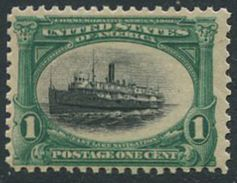 "USA 1901. Michel #132 VF/MNH. Passenger Ship ""City Of Alpena"". (Ts10) - Neufs"
