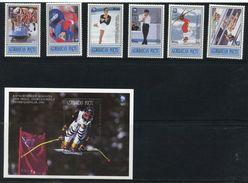 AZERBAIJAN 1994 WINTER OLYMPICS  O105 - Winter 1994: Lillehammer