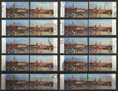 Germania Federale 2014: 20 Pz. N. Mi. 3073 - 3074 - Usati