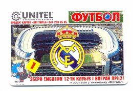 Ukraine (030 -general) Unitel Football Real Madrid ,90 Min Prom - Ukraine