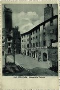 CPA San Gimignano Piazza Della Cisterna . ITALY (447534) - Altre Città