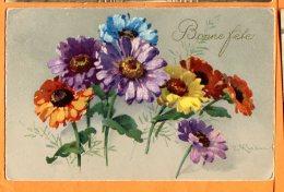 ALB368, Bonne Fête, Marguerite , 2984,illustrateur Klein, Circulée 1922 - Klein, Catharina