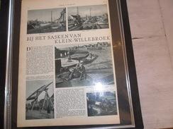 """Origineel Knipsel ( 81 ) Uit Tijdschrift """" De Stad """" 1935   -   Klein - Willebroek ( Willebroeck ) - Vieux Papiers"""