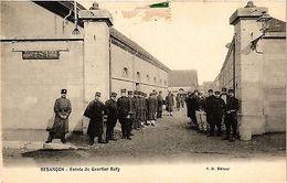 CPA Militaire, Besancon - Entree Du Quartier Ruty (278626) - Militaria