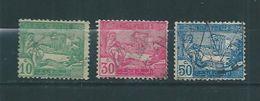 Colonie Timbres De Tunisie  De 1922  N°76 A 78  Oblitérés - Usati