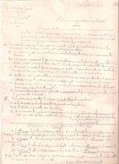 NOTE AU SUJET AEROPLANES AOUT 1914 GUERRE AVIATION AVION  GRAND QUARTIER GENERAL + CROQUIS - 1914-18