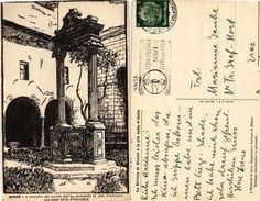 CPA Rimini Il Chiostro Del Cortile Dell'ex Convento. ITALY (448885) - Rimini