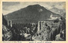 Trisannabrücke Mit Schloss Weinberg Castle - Schwaz