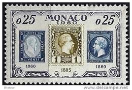 "Monaco YT 525 "" 75e Anniv. Timbre Monégasque "" 1960 Neuf** - Unused Stamps"