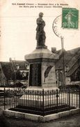 LUSSAT MONUMENT ELEVE A LA MEMOIRE DES MORTS POUR LA PATRIE - Other Municipalities