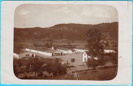 DOBOJ - Military Camp  ( Bosnia And Herzegovina ) ** REAL PHOTO ** K.u.K. Militarypost *  Travelled 1916. To Kotor - Bosnia And Herzegovina