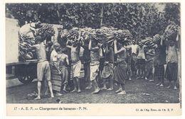 Cpa Afrique, A.E.F., Chargement De Bananes    (S.2400) - Cartes Postales