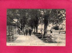 44 LOIRE ATLANTIQUE, LE POULIGUEN, La Promenade, Animée, 1908, (T. H.) - Le Pouliguen