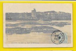 AVIGNON Carte Photo Ruines Du Pont Bénezet (SIP) Vaucluse (84) - Avignon (Palais & Pont)