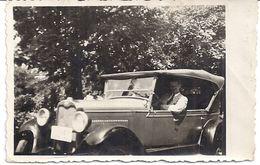 BELLE AUTOMOBILE  DECAPOTABLE  1932   8,5x5,5cm  Photo Animée - Automobiles