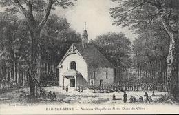 Bar-sur-Seine (Aube) - Ancienne Chapelle De Notre-Dame Du Chêne (illustration) - Edition Doussot - Carte Non Circulée - Bar-sur-Seine