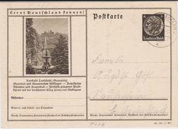 DR 3 Reich Ganzsache P 236 Bildpostkarte Landstuhl Pfalz Gel Kaiserslautern 1939 - Deutschland