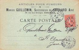 Besançon Articles Pour Fumeurs Guillemin Saillard Rue Des Granges - Besancon