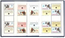 CSSR 1977 Kleinbogen Mi. 2377 -80 Yv. 2213 -16 Postfrisch MNH** - Blocchi & Foglietti