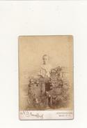 N. J. ANOUFFRIEF, SAINT PETERSBOURG - Photo Format Cabinet - Jeune Garçon - Photos